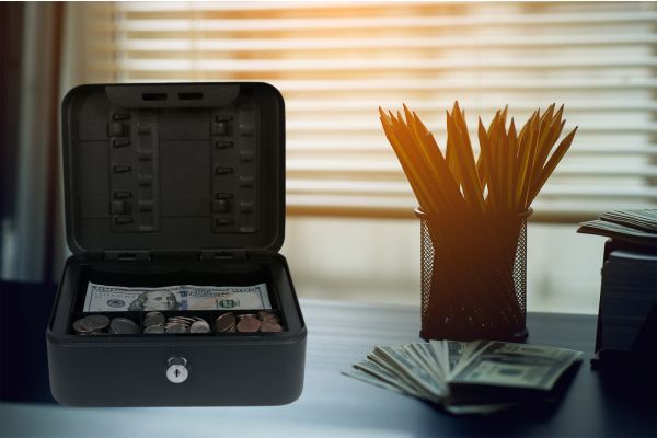 Royal Sovereign Compact Cash & Key Box (RSCB-100)